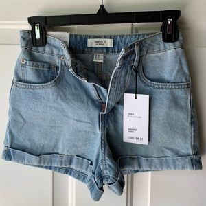 Forever 21 - High Rise Jean Shorts